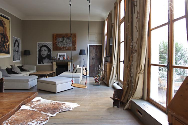 Woonkamer En Slaapkamer : Een schommel in je huis?