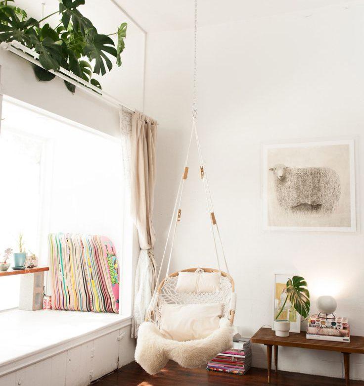 Relaxte Hangstoel